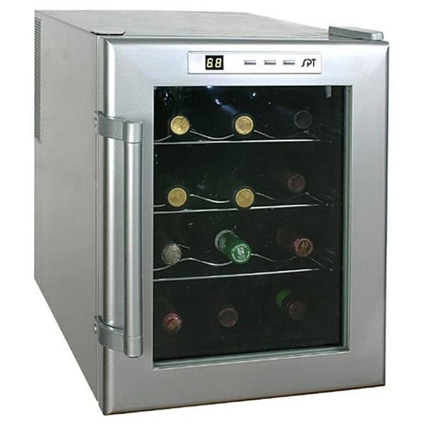 Amazing 12 Bottle Wine Fridge Part - 11: SPT 12-bottle ThermoElectric Wine Cooler