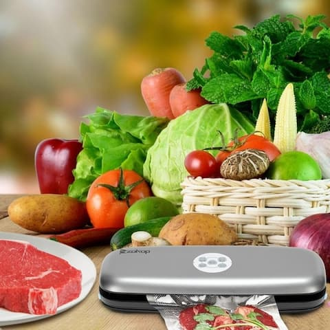 Multi Mode Food Vacuum Sealer Machine Integrated Cutter