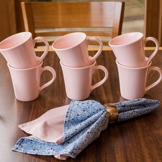 Manhattan Comfort Floreal 6 Mugs (11.16 oz)