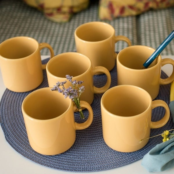 Manhattan Comfort Set of 6 Mugs 12.17 oz.. Opens flyout.