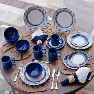 Link to Manhattan Comfort 32 Piece Dinner Set Service for 8 Similar Items in Dinnerware