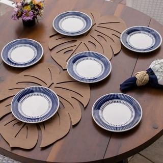 "Link to Manhattan Comfort 12 Medium 7.48"" Salad Plates Similar Items in Dinnerware"