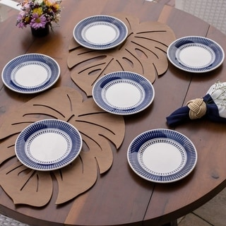"Link to Manhattan Comfort 6 Medium 7.48"" Salad Plates Similar Items in Dinnerware"