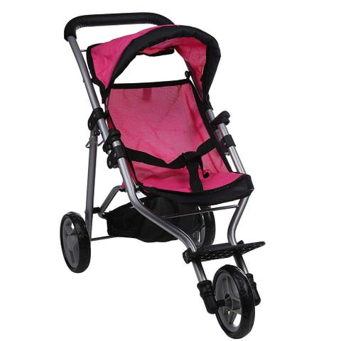 My First Doll Jogger 9326C Pink