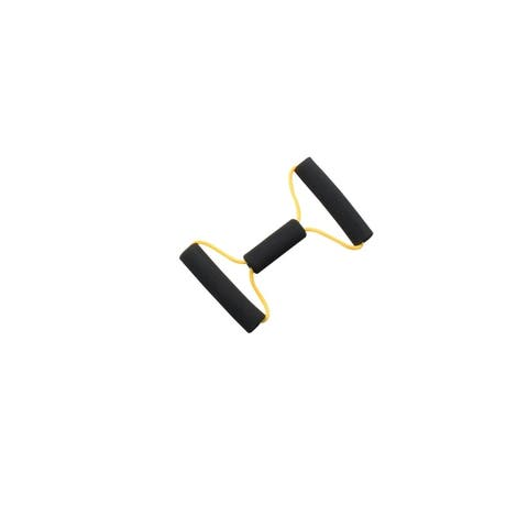 "CanDo 10-5573 Green Bow-Tie Tubing, Medium Resistance, 14"" Length"