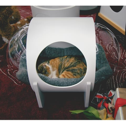 MYZOO-SPACESHIP ALPHA Cat Bed