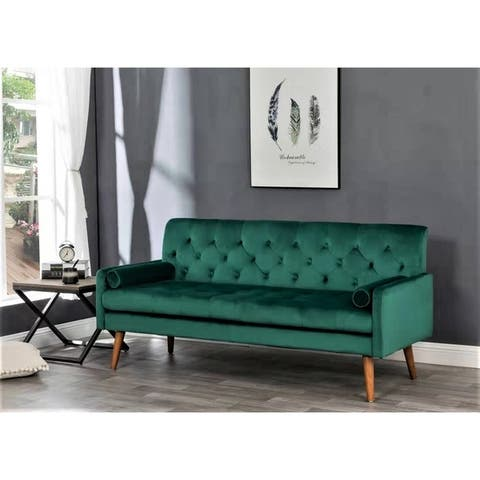 Johnson Tufted Velvet Sofa