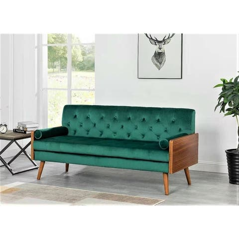 Jonathan Tufted Velvet Sofa