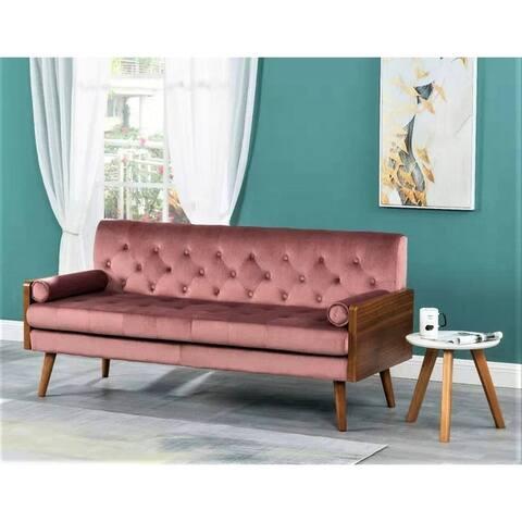 Jonathan Tufted Velvet Sofa