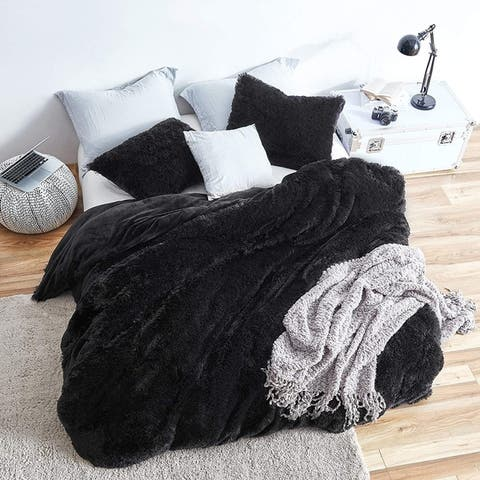 Coma Inducer Oversized Duvet Cover - Are You Kidding? - Black