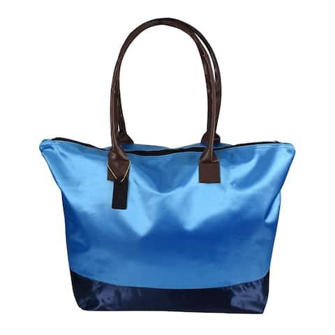 Peach Couture Women Beach Large Travel Tote Handbag Shoulder Bag