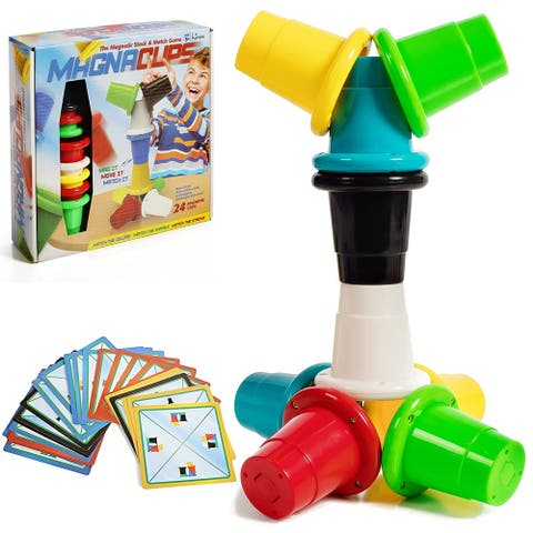 IQ Toys Magnetic Speed Cups Matching and Stacking Quick Cups Game