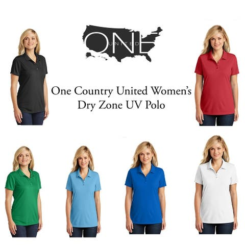 One Country United Women's Dry Zopne UV Polo