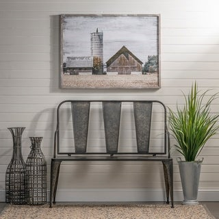 Link to Galvanized Metal Iron Bench Similar Items in Living Room Furniture