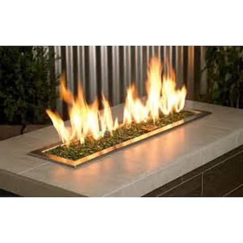 """AZ Patio Heaters Recycled Fire Glass 20-pound Bag - .25""""L x .5""""W x .5""""H"""