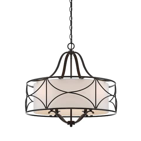 Avara 4 Light Chandelier - Oil Rubbed