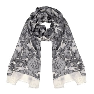Link to Peach Couture Poppy Print Paisley Pattern Pashmina Wrap Shawl Scarf Similar Items in Scarves & Wraps
