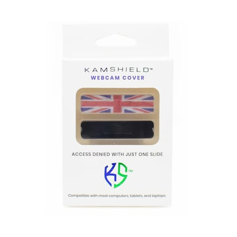 Kamshield-Webcam Cover for Privacy Union Jack