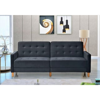 Link to Jonathan Tufted Velvet Sofa Bed Sleeper Similar Items in Sofas & Couches