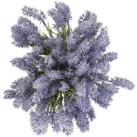 12x Artificial Fake Lavender Flowers Wedding Birthday Baby Bridal Shower Décor