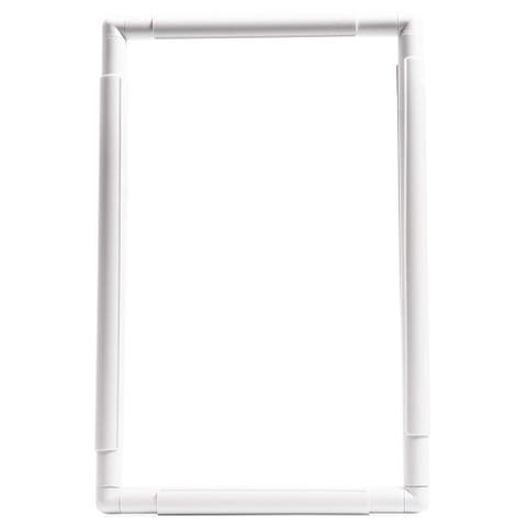"""Rectangle Plastic Snap Clip Quilting Frame 11.5"""" x 17.3"""" for Crafts Embroidery Photos Prints - 11.5 x 17.3 inches"""