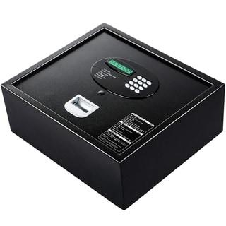 Electronic Biometric Safe Case with Fingerprint Digital Lock D - Black