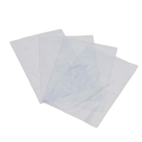 """500pcs 4""""x6"""" Clear Odorless PVC Shrink Wrap Bags Heat Shrink for Soaps Candle - 500 pcs"""