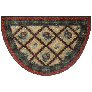 Link to Cozy Cabin Pleasant Pine Accent Rug Similar Items in Farmhouse Rugs