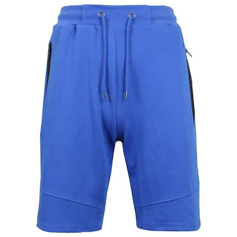 Men's Jogger Tech Shorts with Zipper Side Pockets (S-2XL)