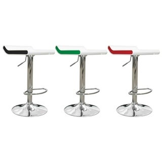 Link to Best Master Furniture Two Tone Adjustable Swivel Bar Stool (Set of 2) Similar Items in Dining Room & Bar Furniture