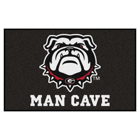"University of Georgia Man Cave UltiMat - 59.5""x94.5"""