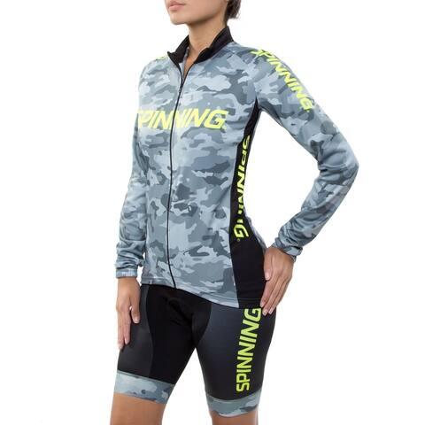 Spinning® Hercules Women's Cycling Shorts - Yellow