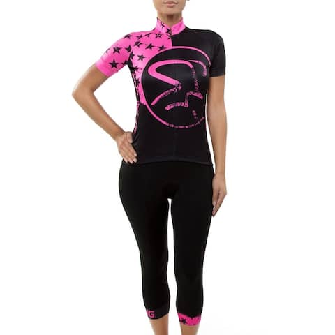Spinning® Gemini Women's Padded Cycling Knickers - Pink