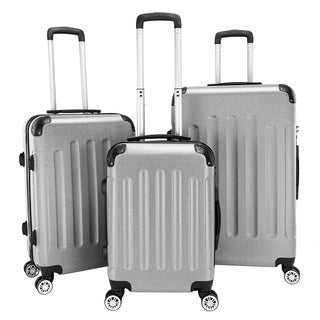 "3 Piece Set Suitcase ABS Lightweight Spinner Suitcase (20"" / 24"" / 28"")"