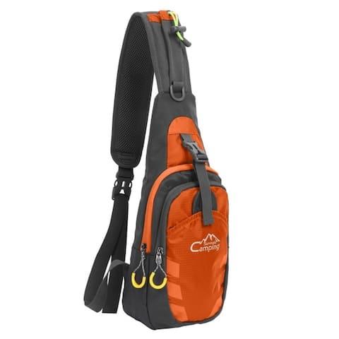 Chest Crossbody Sling Backpack Bag Travel Bike Gym Daypack