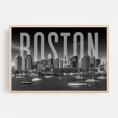 Boston Massachusetts Architecture Framed Wall Art Print