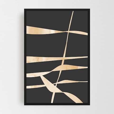Abstract Bohemian Boho Contemporary Art Framed Wall Art Print