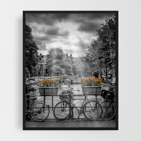 Amsterdam Netherlands Attraction Framed Wall Art Print