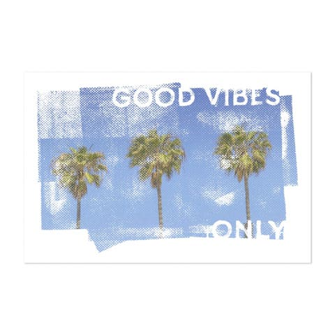 San Diego California Beach Blue Sky Unframed Wall Art Print/Poster