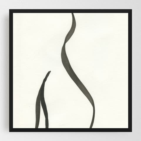 Abstract Abstract Art Abstract Painting Framed Wall Art Print