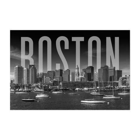 Boston Massachusetts Architecture Unframed Wall Art Print/Poster