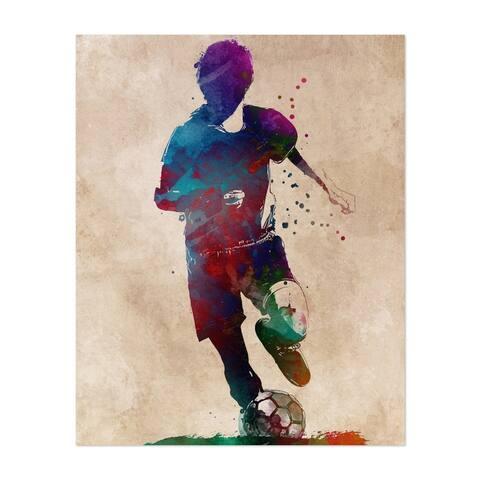 Football Soccer Sport Sports Unframed Wall Art Print/Poster