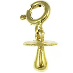 14k Yellow Gold Baby Pacifier Charm|https://ak1.ostkcdn.com/images/products/3108710/3/14k-Yellow-Gold-Baby-Pacifier-Charm-P11238991.jpg?impolicy=medium