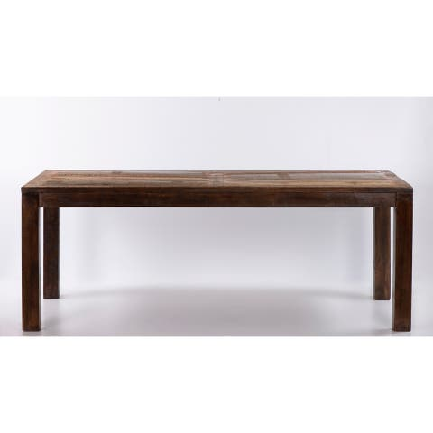 """Raga Reclaimed Wooden Dining Table 79"""""""