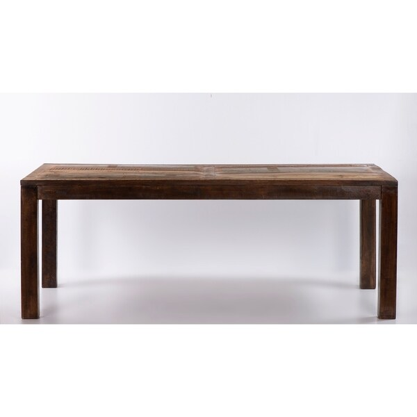 """Raga Reclaimed Wooden Dining Table 79"""". Opens flyout."""