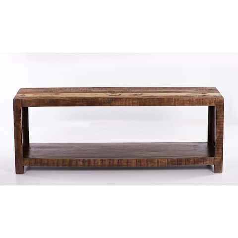 Raga Reclaimed Wooden Media Rack - 54 inches in width