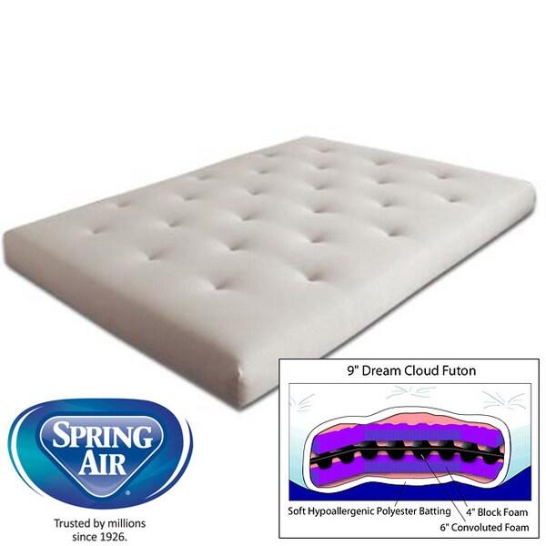 king 9 inch dream cloud futon mattress king 9 inch dream cloud futon mattress   free shipping today      rh   overstock