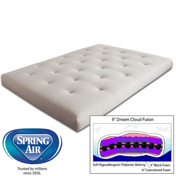 9 Inch Dream Cloud Futon Mattress