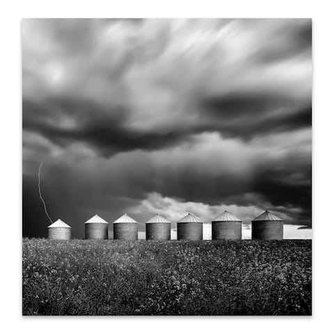 Calgary Alberta Agriculture Metal Wall Art Print