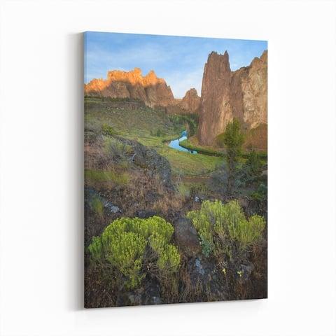 Sisters Oregon Desert High Desert Canvas Wall Art Print